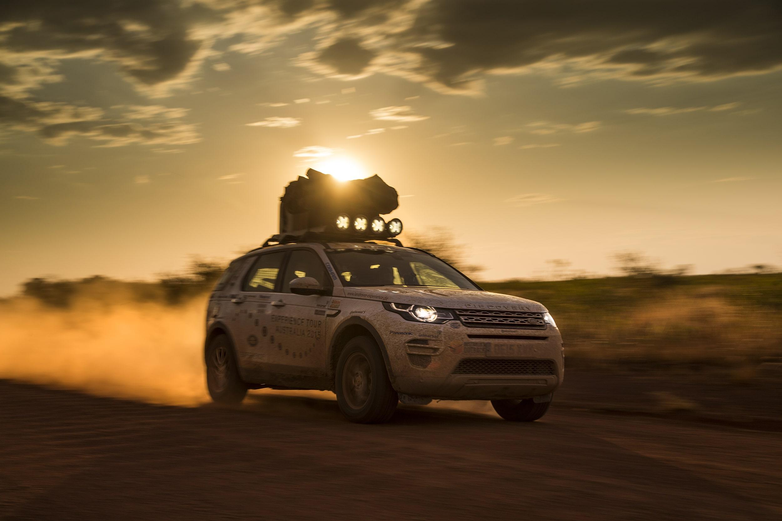 Mit dem Land Rover durch Australien